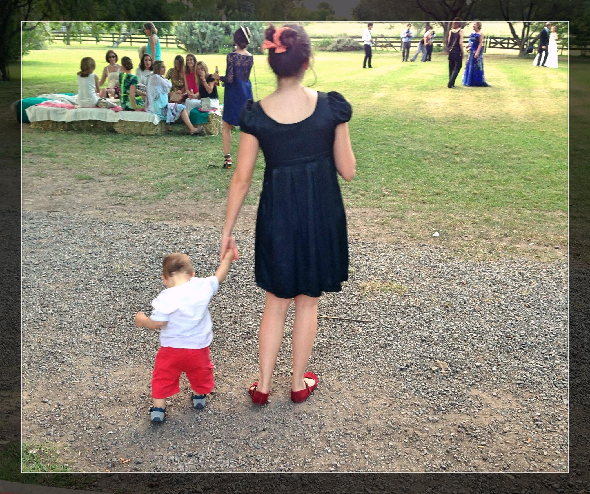 Joaco y su babysitter :)