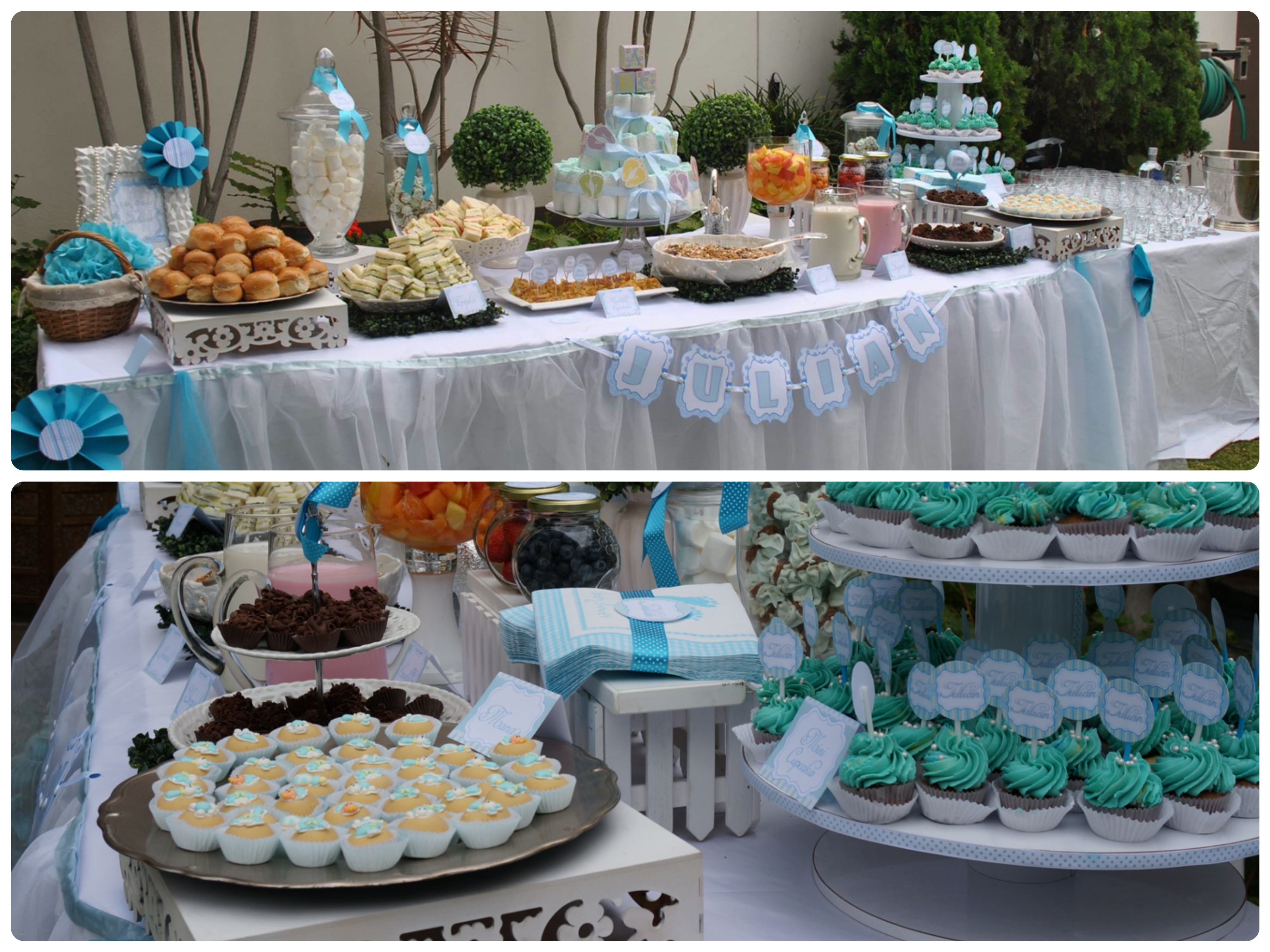 Ideas baby shower mami s cool for Mesa baby shower nino