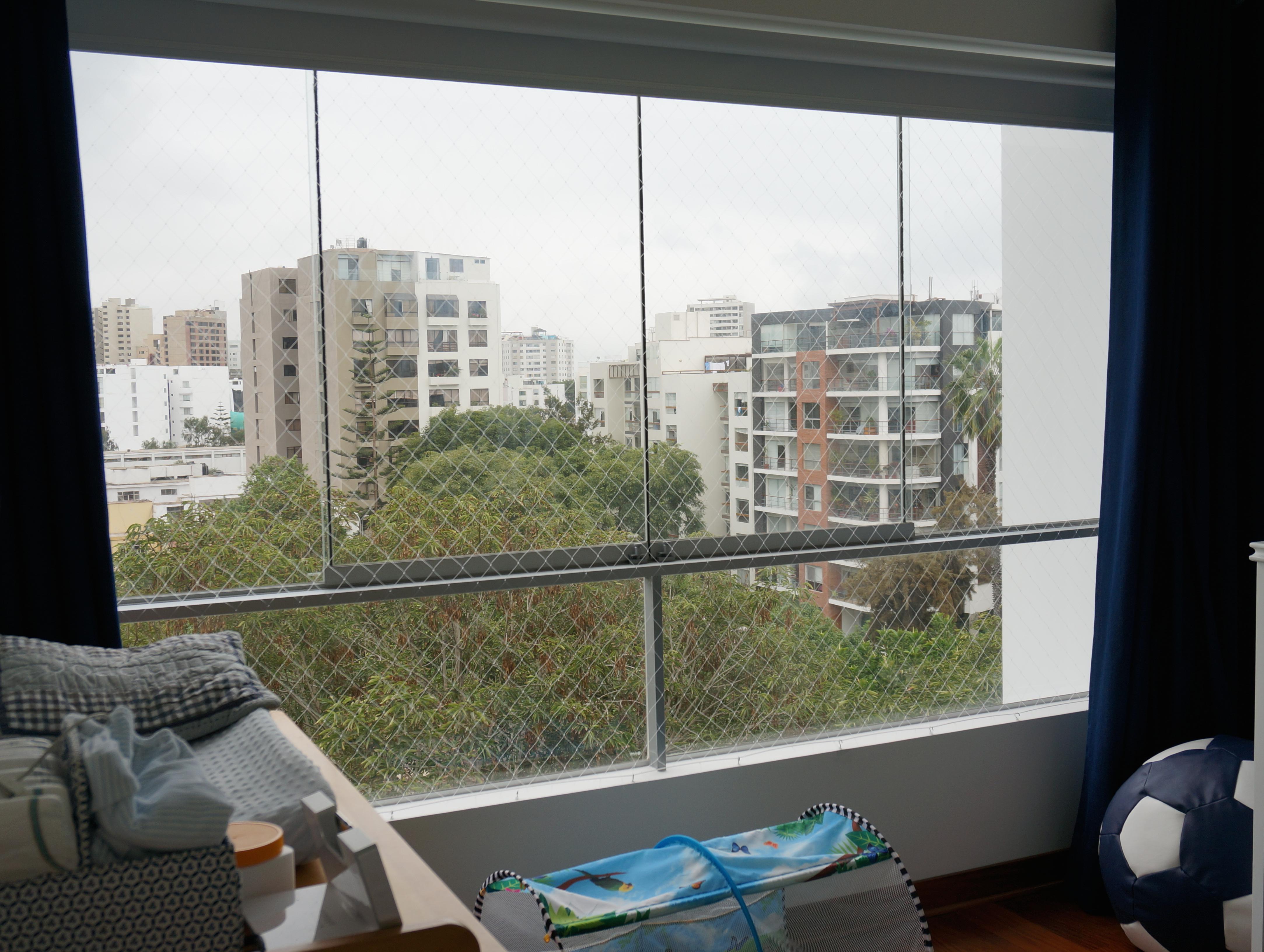 Seguridad ante todo mallas para ventanas mami s cool - Malla para balcones ...