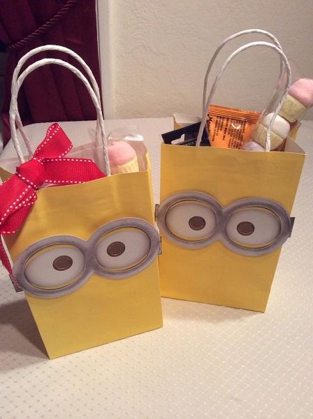 Idea linda para las bolsas de las sorpresas